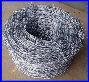 BV/SGS hot dipped galvanized barbed wire