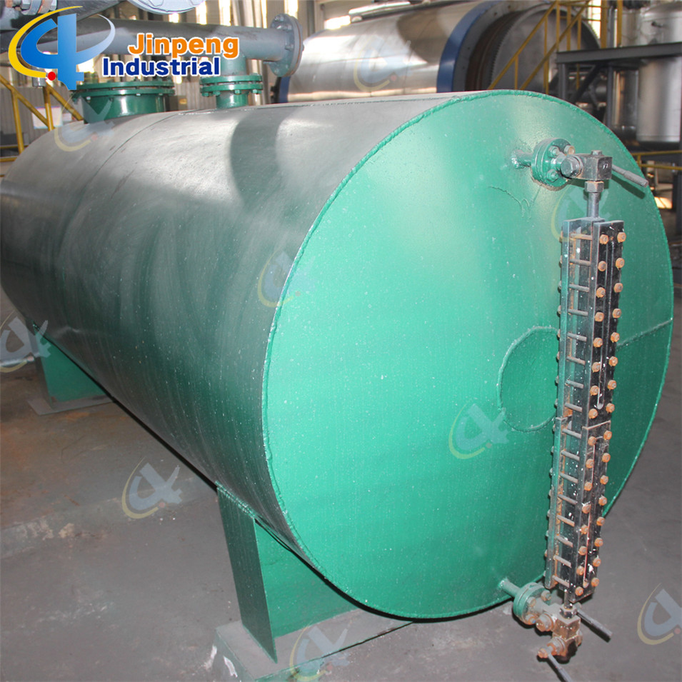 Pyrolysis Waste Tire Recycle Plant