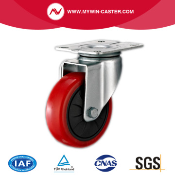 63mm Swivel Industrial PU Caster with PP core