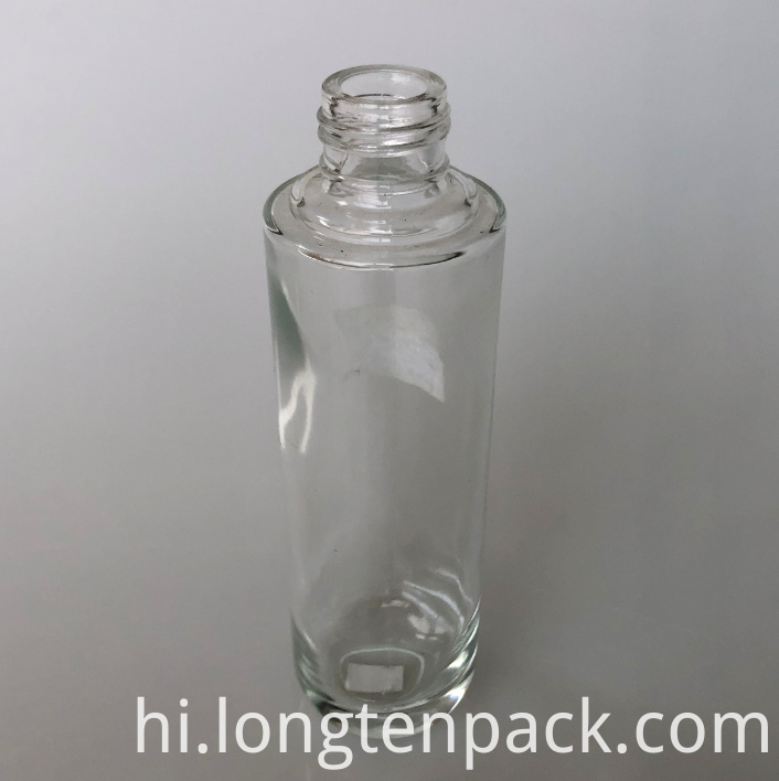 LTP4033 Column glass bottle with R bottom