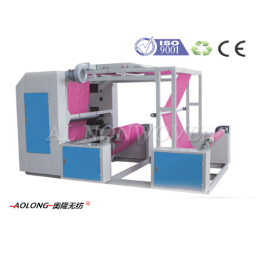 AL-P41200 2 Colors Non Woven Fabric Flexo Printing Machine