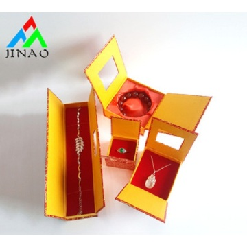 Lovely Custom Paper Jewelry Ring bracelet Box