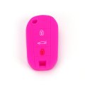 Eco-friendly Durable Silicone Car Key Cover For Peugeot