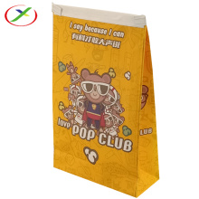 new style colourful print window paper bag