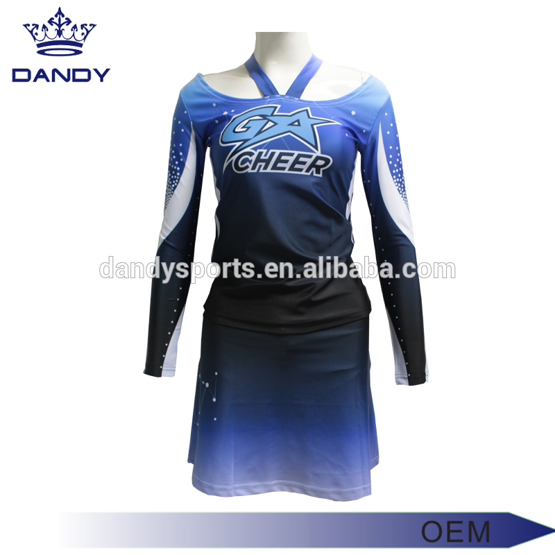white cheer uniform