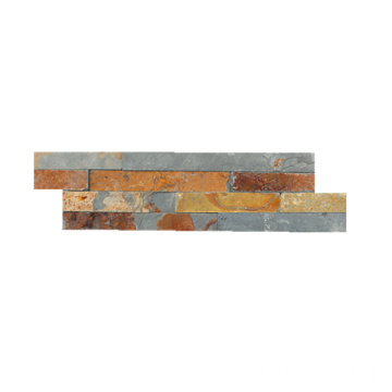 Natural Rustic Stone Paneling Systems for Garden Wall