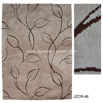 Microfiber Machine Made Carpet with Pattern