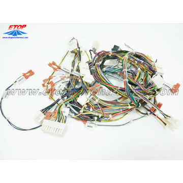 custom wire harness for game machine