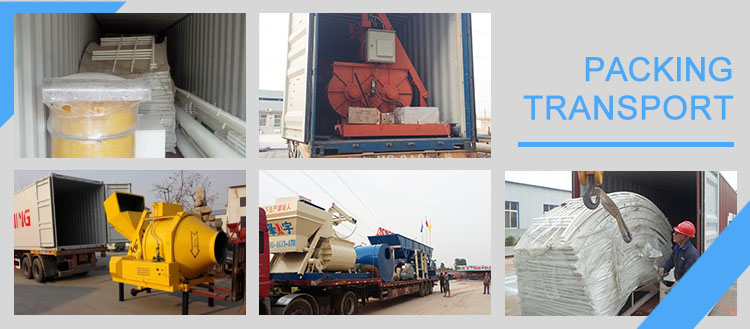 heavy duty manual operation concrete mixer