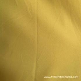 Yellow Peach Skin Fabric for Bedding Microfiber