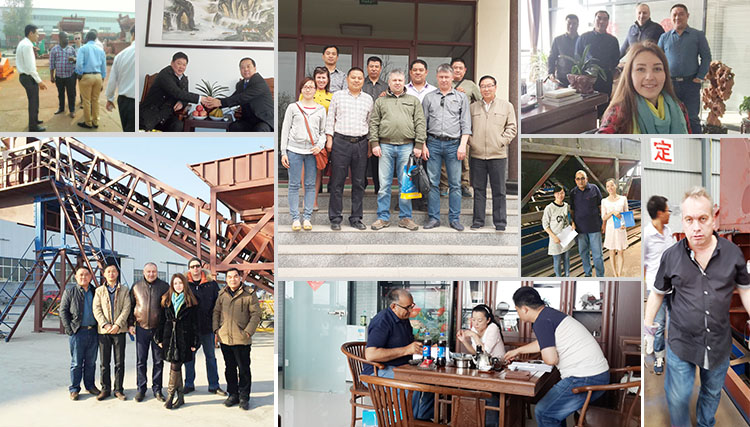 Stationary Concrete Batching Plant visited