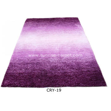 Microfiber Soft Shaggy with Blading Color