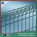 galvanize fence with bends double loop fence