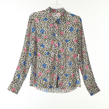 Print Viscose Koshivo Long Shirts