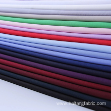 Solid Microfiber fabric Smooth Shirting Fabric Anti-wrinkle