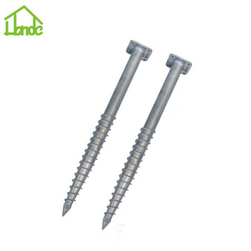 Hot silver ground screws with square flange