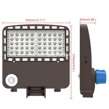 150w saa park lot light area lighting