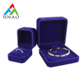 velvet insert bangle jewelry box set