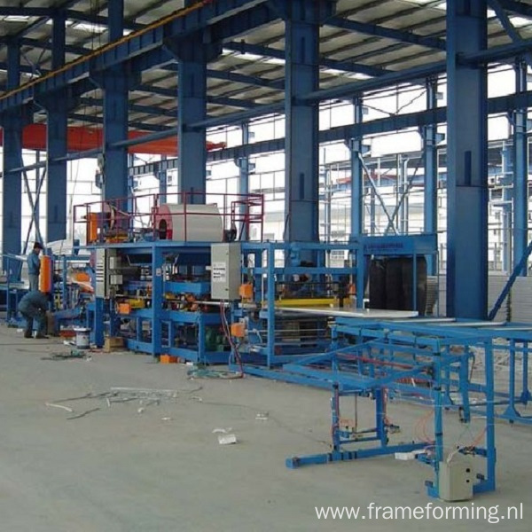 Fireproof Rock Wool Sandwich Panel Making Machine