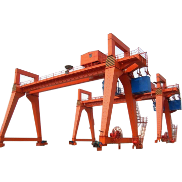 Double beam gantry crane 60 ton picture
