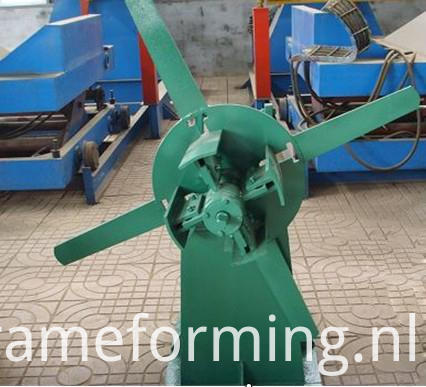 Step Tile Ridge Cap Forming Machine 04