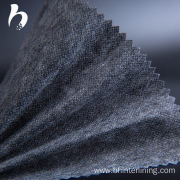 Polyester garment nonwoven fusible interlining lining fabric