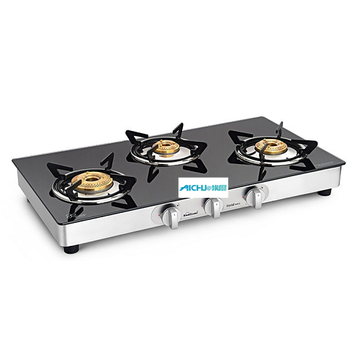 Crystal Nova Gas Cooktop 3スーパービッグバーナー