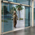 Commercial entrance japan style softclose automatic doors