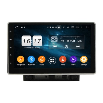 Klyde Android 10 Universal flip out car stereo