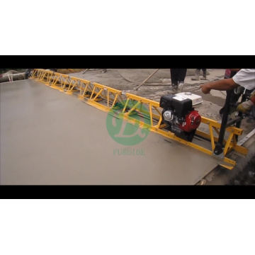 Hand push concrete aluminum truss screed paver equipment FZP-90