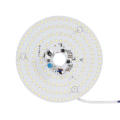 white light led dimmer module round ac 220v