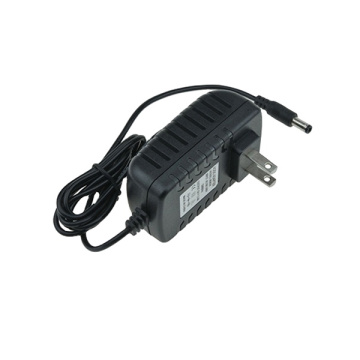 24V-0.5A Wall Battery Charger 12W US-Plug Portable Adapter