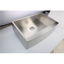Apron front sink for kitchen