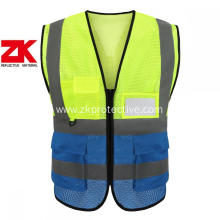 2020 hi vis custom safety vest with pockets