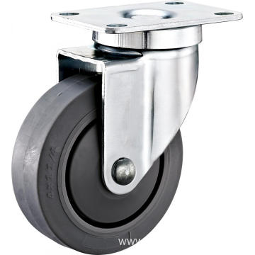 "4"" Plate Swivel Industrial TPR Wheel Caster"