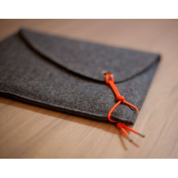 custom felt envelope bag