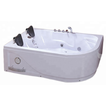 2 Person Indoor Whirlpool Bathtub with Control Panel
