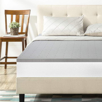 Comfity Sleep Solution Queen Short Mattress Topper