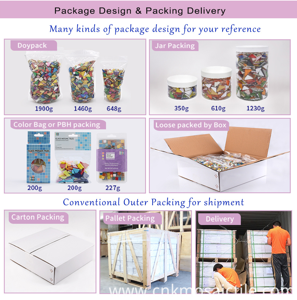mosaic packing