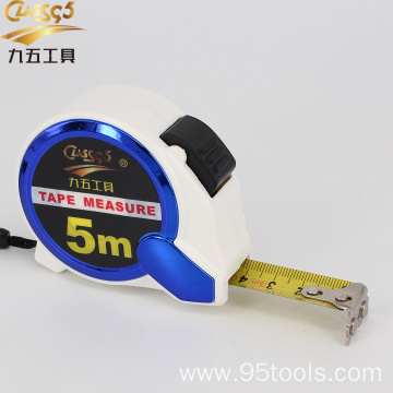 plastic material case 3m 5m steel tape measure