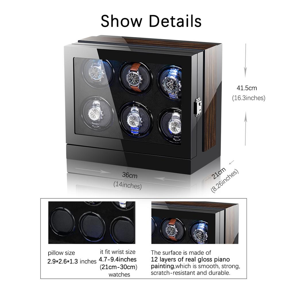 watch winder detail