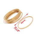 10pcs/lot Stainless Steel Gold Tone 25X18mm Moon Links Connectors Jewelry Accessories for Earring Making
