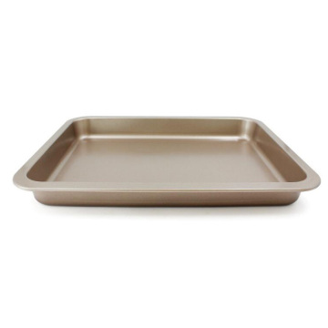 "14"" Oblong Shallow Baking Pan With Wide Sides"