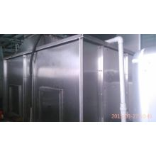 Electrical heating spray booth