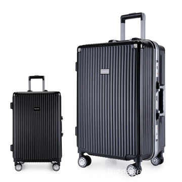 Factory wholesale aluminum carry on luggage suitcase