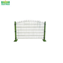 Decorative Polyester Coated Prestige Welded Mesh Fence