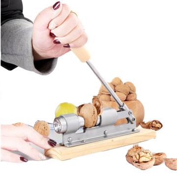 macadamia nut cracker nut driver bit bolt mechanical sheller walnut pecan break nutcracker nut cracker fast Opener Kitchen Tools