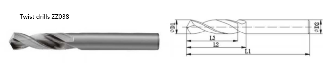 coolant carbide twist drills