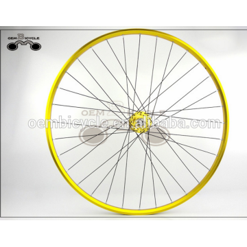 700C 15mm aluminum alloy fixie bicycle wheel