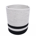 Home Decorative Hamper Cotton Kids Toy Collect Basket